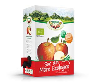 Suc de mere ecologic, 3L